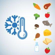 سردخانه نگهداری و دمای مناسب برای ذخیره سازی مواد غذایی